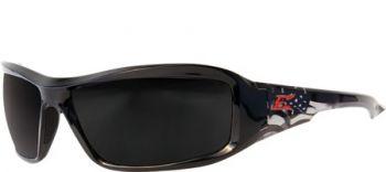 Brazeau Patriot Polished Black Frame-Removable Padding
