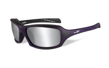 SLEEK BY WILEY X      Matte Violet Frame ..(Removable Padding)