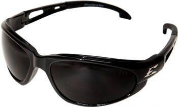 Dakura Polished Black with Smoke Grey Lenses-Fixed padding