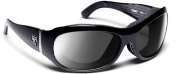 7eye by Panoptx - BRIZA -GLOSS BLACK  (Removable Padding)